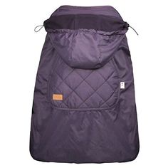3 in 1 New winter baby carrier cloak windproof warm baby sling cape mantle baby wrap Purple color *** For more information, visit image link.
