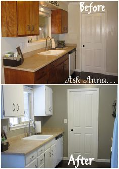 Kitchen Cabinet Makeover Ideas: Rustoleum Cabinet Transformations