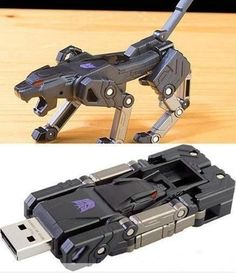 Transformer USB Flash Drive | :D