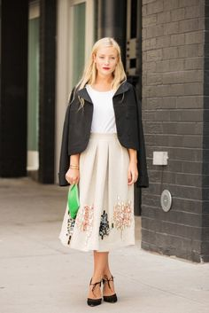 _Kate_Foley. love the embroidery on that skirt!
