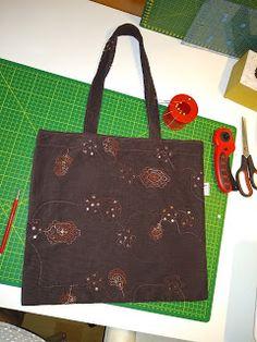 dada: Zero waste - taška prací kord s výšivkou Candy Corn, Zero Waste, Saints, Reusable Tote Bags, Tutorials, Blog, Blogging, Wizards