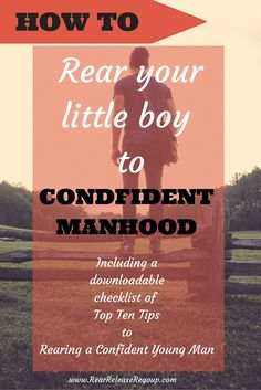 If you're wondering how in the world to raise that boy into a confident young man, here is your resource.  My story of how I raised my son and the tips God lead me to implement.  Plus my top ten tips for raising a confident young man, free downloadable printable!  There is HOPE, mama.  Remember, God is not on your timetable!
