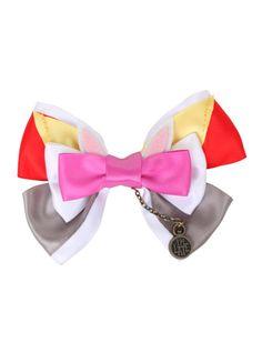 Disney Alice In Wonderland White Rabbit Cosplay Hair Bow | Hot Topic