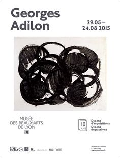 """Expo """"Georges Adilon"""", du 29 mai au 24 août 2015 dans le cadre de l'événement """"Dix ans d'acquisitions, dix ans de passions"""", du 29 mai au 21 septembre 2015"""