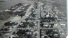Vista aérea de Monte Alto / SP em outra perspectiva.