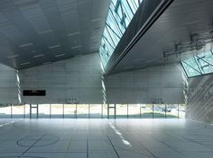 Three-In-One Sports Center / Savioz Fabrizzi Architectes