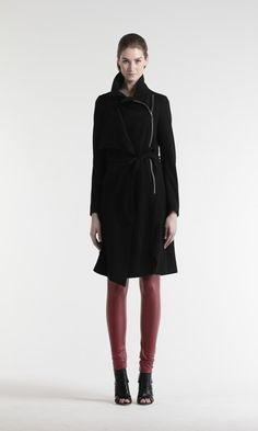 Faith trench coat - Katri/n - Katri Niskanen Trench, Must Haves, Normcore, High Neck Dress, Faith, Coat, Clothes, Black, Dresses