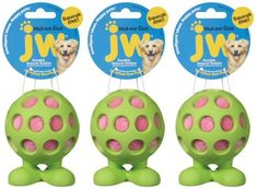 JW Hol-ee Cuz Medium 3pk >>> More info could be found at the image url. (This is an affiliate link and I receive a commission for the sales) #DogLovers