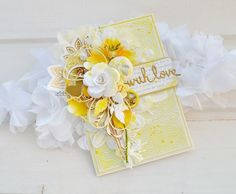 card flowers leaves labels vintage shabby chic romantic, scripty words and letters oneliner . with love . Shabby Chic Karten, Shabby Chic Cards, Sunflower Cards, Mixed Media Cards, Beautiful Handmade Cards, Card Tags, Creative Cards, Cute Cards, Vintage Cards