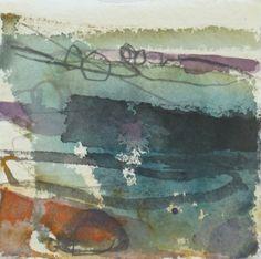 "Jane Lewis ""small observations 1"" watercolor graphite Abstract Watercolor, Watercolor And Ink, Abstract Art, Seascape Paintings, Watercolor Paintings, Watercolours, Modern Art, Contemporary Art, Inspirational Artwork"