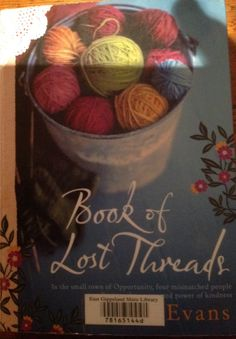 Book of Lost Threads, Australian setting.  A quick read.