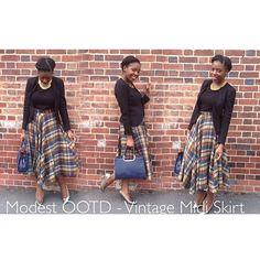 New Blog on YouTube  #setapartstyle #modestfashion #style #churchvogue #sunday #wiwt #ootd #modesty #modestystylist #vintage #asos