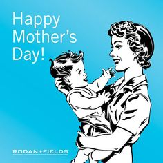"""Skin is a beautiful thing, and so is motherhood. Rodan + Fields® wishes moms everywhere a very happy and skin-friendly Mother's Day. """"LIKE"""" if you are celebrating the special women in your life today and comment below with a shout out of gratitude to one of them. https://amk.myrandf.com"""