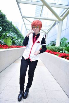 Is time to party - 707 Mystic messenger Cosplay   CN: Shuki