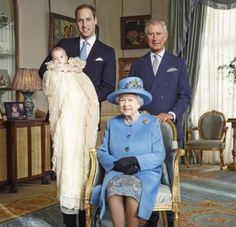 prince georges christening pictures oct 2013 | Prince George's christening: Duke, Duchess of Cambridge in official ...