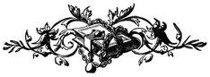 Vintage Clip Art - Printer Ornaments - & a Giveaway - The Graphics Fairy