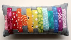 Scrappy Pincushion Swap - Received, holy moly! by ellesquare, via Flickr