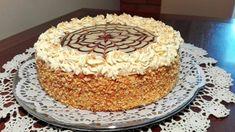 Eszterházy torta - Hiszed.Com Naan, Tiramisu, Ethnic Recipes, Food, Essen, Meals, Tiramisu Cake, Yemek, Eten