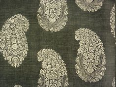 Paisley Ground linen, Titley and Marr