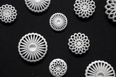 3d printed buttons : LEONI WERLE