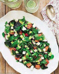 Davina McCall: Feta, watermelon and avocado salad | Daily Mail Online