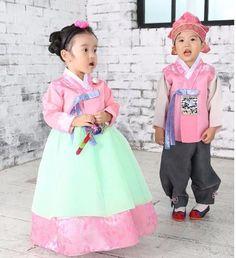Girl Hanbok Korean traditional Dress Wedding Korea Baby 1st birthday Party Kids…