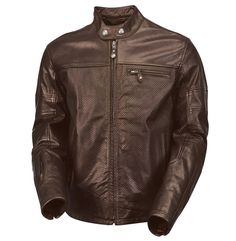 Our best selling leather jacket ever, now perforated for hot summer riding
