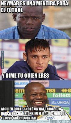 593946 - La opinion de Asprilla sobre Neymar