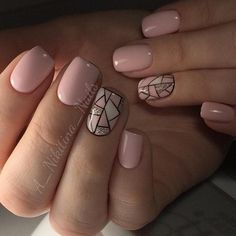 "Outstanding ""gel nail designs for fall autumn"" information is readily available on our internet site. Shellac Nails, Nude Nails, Nails Polish, Pink Nails, Manicures, Acrylic Nails, Nail Gel, Hair And Nails, My Nails"