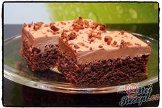 opravdu vyzkoušejte, je to fantastický… Czech Desserts, Sweet Desserts, Sweet Recipes, Dessert Recipes, Slovak Recipes, Czech Recipes, Kefir Recipes, Cooking Light, Something Sweet