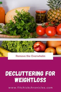 Decluttering for Weight loss - Weightloss Meme - - Decluttering for Weight loss remove the overwhelm and attack weight loss from a good place.fitchickchron The post Decluttering for Weight loss appeared first on Gag Dad. Wellness Fitness, Health And Wellness, Health Tips, Health Fitness, Fitness Goals, Fitness Hacks, Fitness Challenges, Funny Fitness, Gut Health