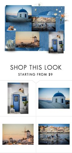 """""""Beautiful Greece in Patrick's Photography"""" by flower-of-paradise on Polyvore featuring interior, interiors, interior design, home, home decor, interior decorating, integrityTT and EtsySpecialT"""