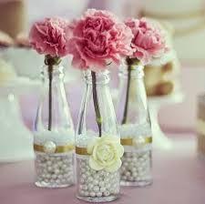 Resultado de imagem para decoração com garrafas e flores