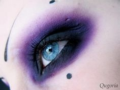 gothic purple makeup - Google Search