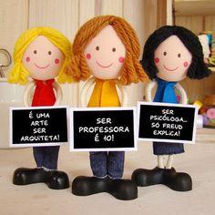 Boneco Profissão - Diversas/Variados (Feminino)