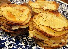 Muffin tin meals: Muffin tin potato gratins