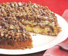 Cinnamon Roll coffee cake #justapinchrecipes Vanilla Yogurt, Coffee Cake, Cinnamon Rolls, Pecan, Banana Bread, Ethnic Recipes, Desserts, Food, Postres