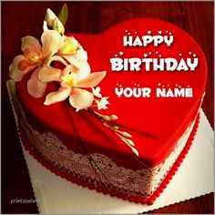 Birthday Cake With Name Editor Online Awesome For Husband