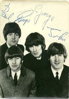The Beatles Paul, Ringo, George, John