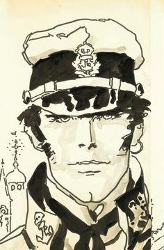 Corto Maltese by Hugo Pratt.