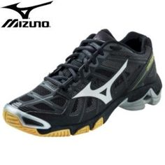 Mizuno Wave Lightning RX2 Mens Volleyball Shoe - Black/Silver