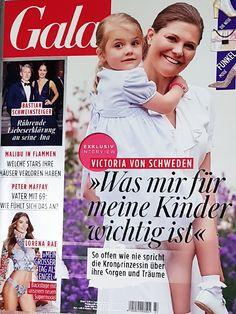 2018: Victoria von Schweden mit Tochter Estelle Adele, Royals Today, Interview, Star Wars, Movie Posters, Movies, Magazines, Daughter, Father