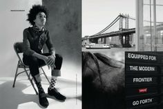 www.pegasebuzz.com | The Fashion Horse : Levi's Fall-Winter 2013
