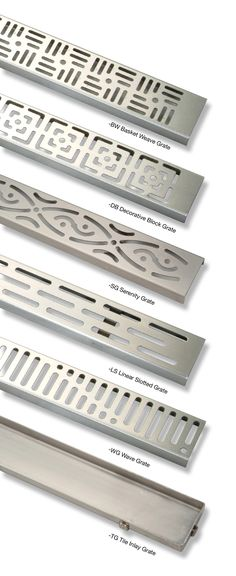 Zurn ZS880 stainless steel linear shower drains
