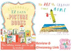 Crafty Moms Share: The Day the Crayons Came Home -- Book Review & Giveaway Link -- 12 Days of Picture Books