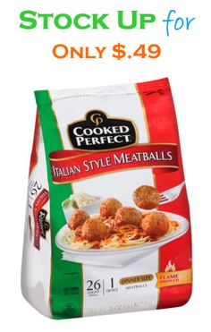 Cooked Perfect Meatballs for Only $.49 at Kroger   FreeCoupons.com