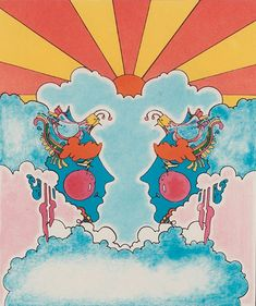 Peter Max Yellow Submarine   What is the origin of those 70s-style multicolor stripes? - Straight ...
