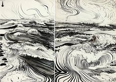 """""""The fine art of painting, which is the bastard of alchemy, always has been always will be, a game. The rules of the game are quite simple: in a given arena, on as many psychic fronts as the talent allows, one must visually describe, the centre of the meaning of existence"""" - Brett Whiteley"""