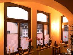 Sonnenschutz mit sensuna® Plissees / sunprotection with sensuna® pleated blinds