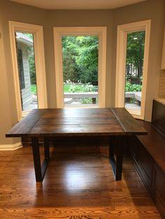 Farmhouse Kitchen  Contemporary  Kitchen  Burlington  Perkins Endearing Contemporary Kitchen Tables Inspiration
